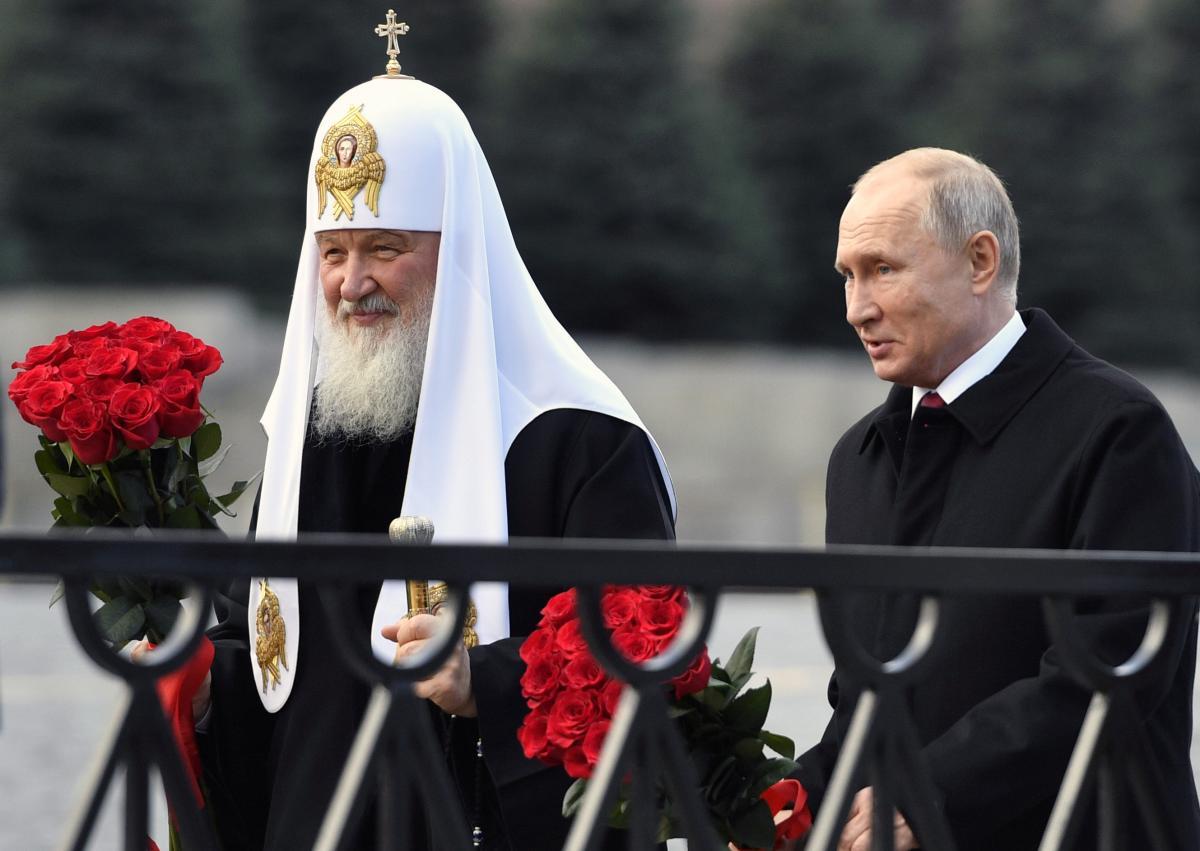 Новости России — Главный компромат на патриарха Кирилла — сотрудничество с режимом Владимира Путина, полагает историк
