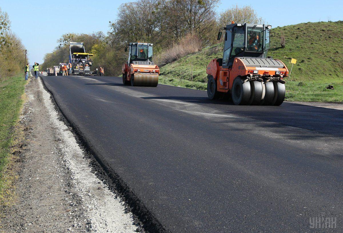 Фоторепортаж ремонт дороги