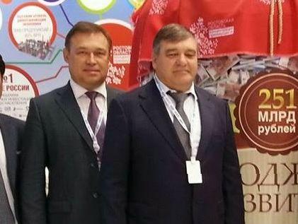 Игорь Путин - второй слева