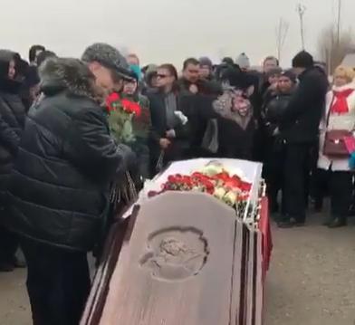 Евгения Осина похоронили в Москве