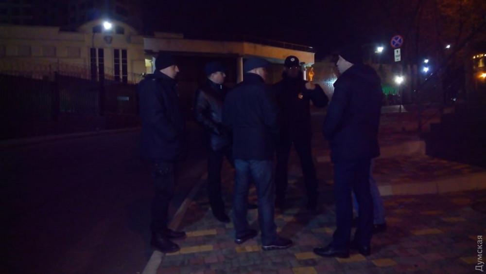 В Одессе активисты провели акцию под генконсульством России из-за агрессии страны в Азовском море