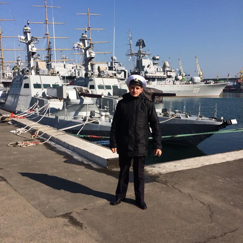 Андрей Артеменко, старший матрос, 1994 г.р., Кировоградская область, МБАК