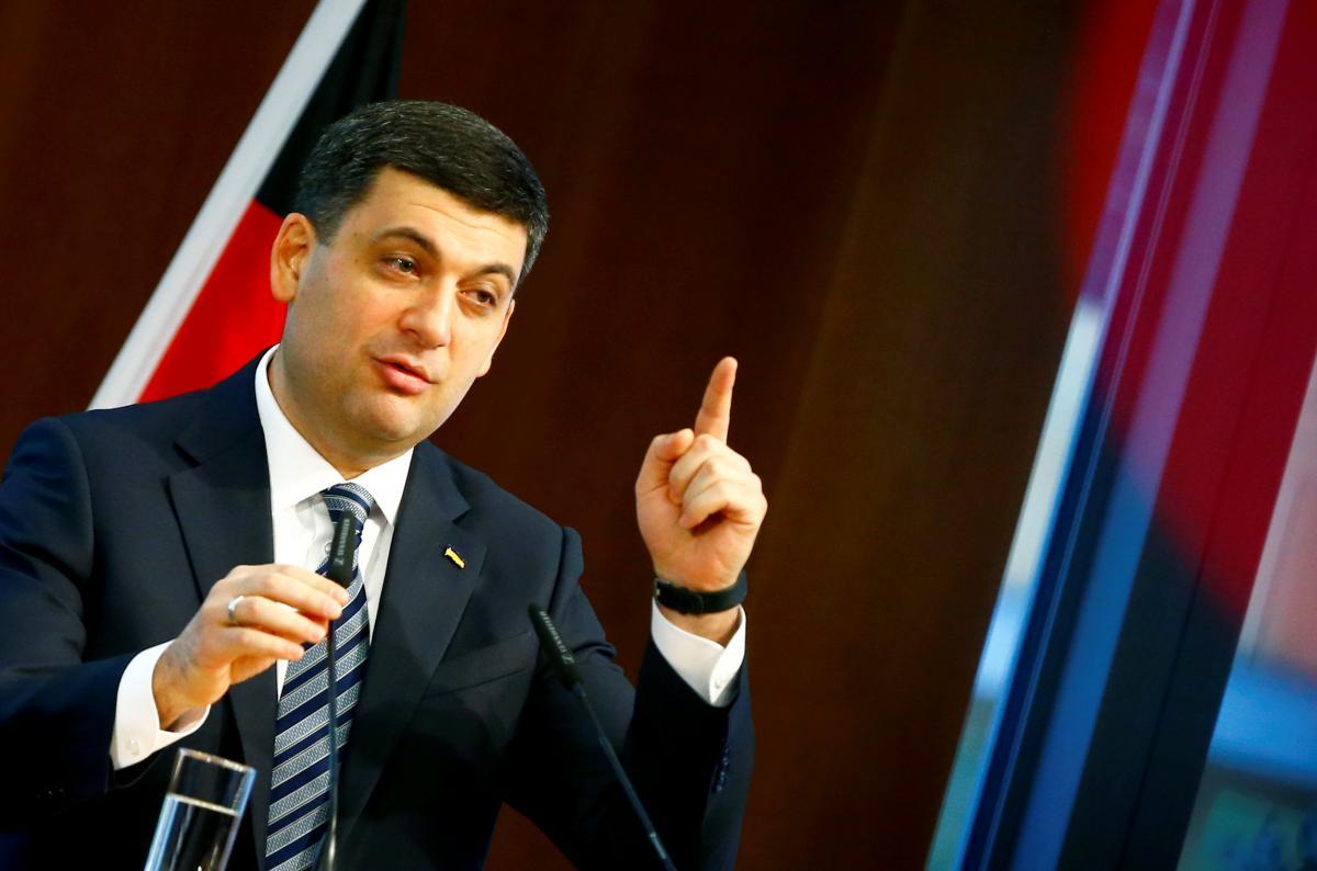 Гройсман обсудил спрезидентом Германии усиление санкций против Российской Федерации