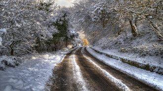 природа_снег_дорога_зима_гололед