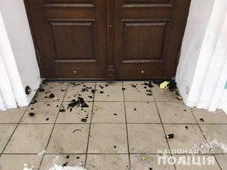 Нападение на Андреевскую церковь