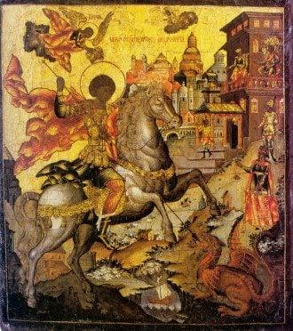 Великомученик Георгий Победоносец. Икона