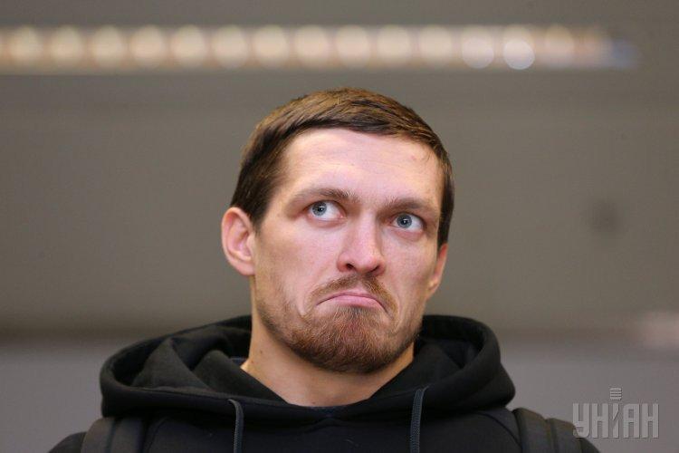 Олександр Усик повернувся в Україну і дав прес-конференцію