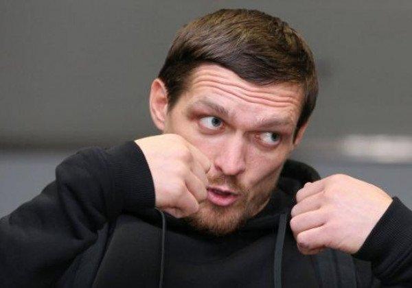 Александр Усик не будет драться с Александром Устиновым, сообщил Александр Красюк - Усик - Спонг