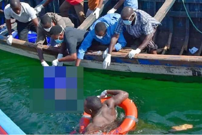 Наозере Виктория затонула прогулочная яхта спринцем Уганды наборту