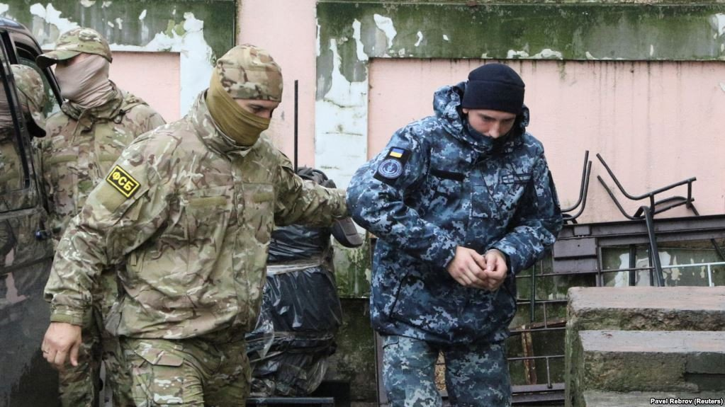 Арест украинских моряков