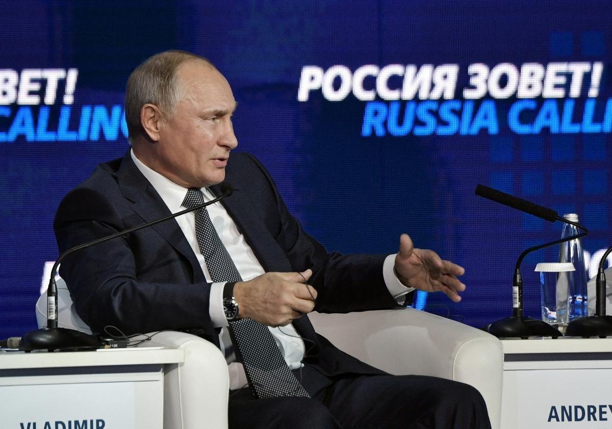 Ирина Геращенко полагает, что Владимир Путин затеял