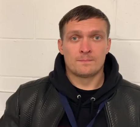 Александр Усик прокомментировал победу Александра Гвоздика над Адонисом Стивенсоном