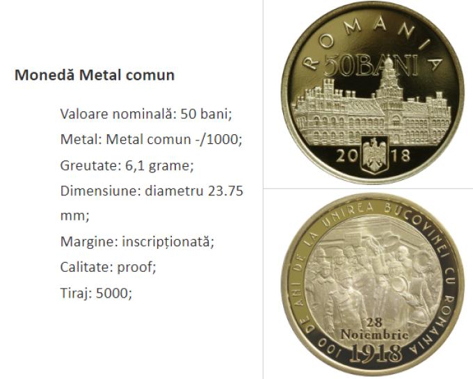 Монеты в Румынии