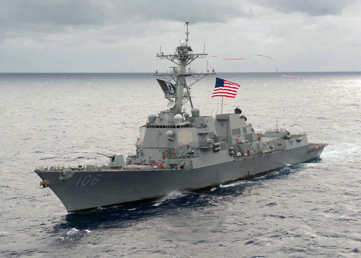 Эсминец США Arleigh Burke