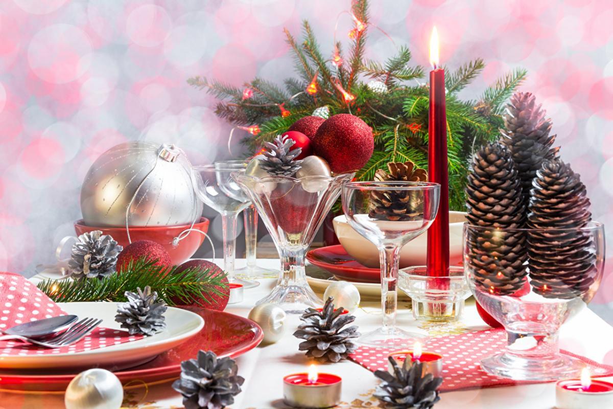 Днем, картинки новогоднего стола