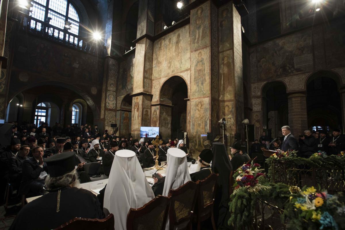 Митрополит Епифаний избран предстоятелем поместной церкви