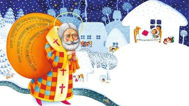З Миколаєм – привітання з Миколайчиком та казкові листівки з Днем святого Миколая