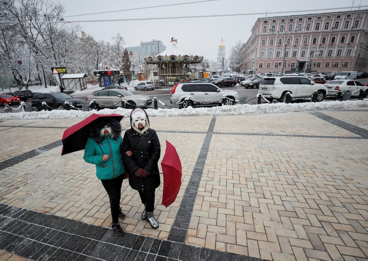 Синоптики спрогнозировали, что в Киеве на выходных днем будет плюсовая температура