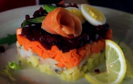 Собраны аппетитные рецепты салата шуба