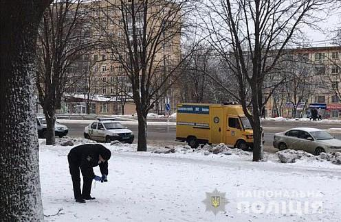В Кривом Роге злоумышленник ограбил отделение банка