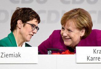 Преемница Ангелы Меркель Аннегрет Крамп-Карренбауэр вступилась за Северный поток-2