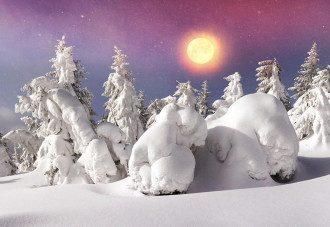 погода_зіма_снег_солнце