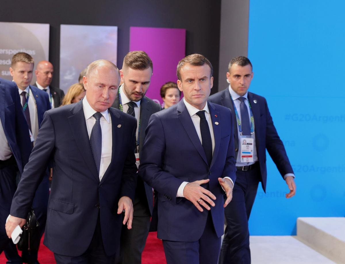 Владимир Путин на саммите G20 поговорил с Эммануэлем Макроном