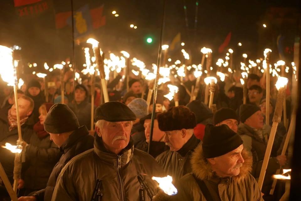 Марш в честь Бандеры
