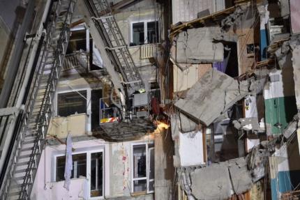 Магнитогорск,дом,обрушение
