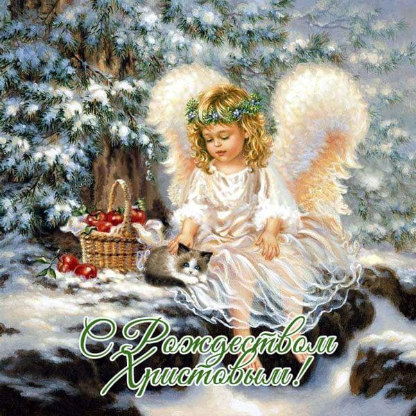 Самые красивые открытки с Рождеством