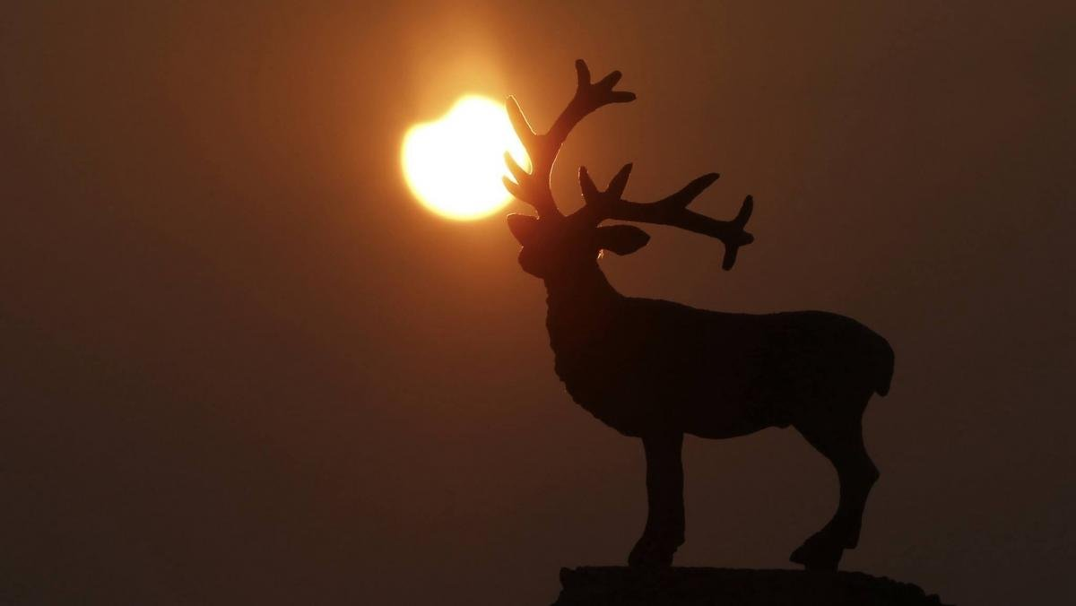 Солнечное затмение - 2019