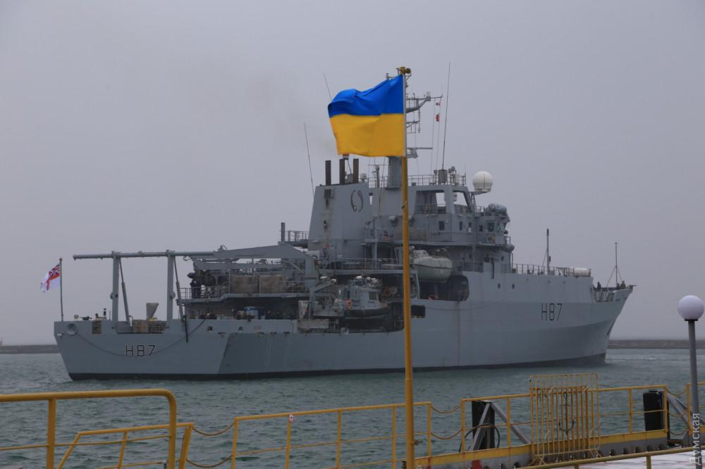 Корабль, Одесса