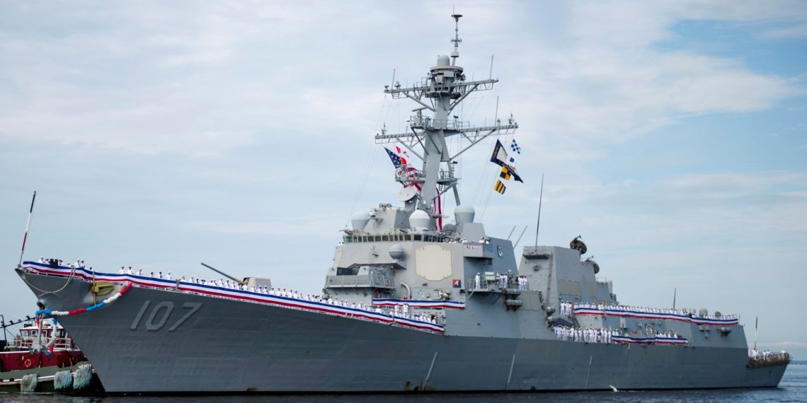 Корабль, США
