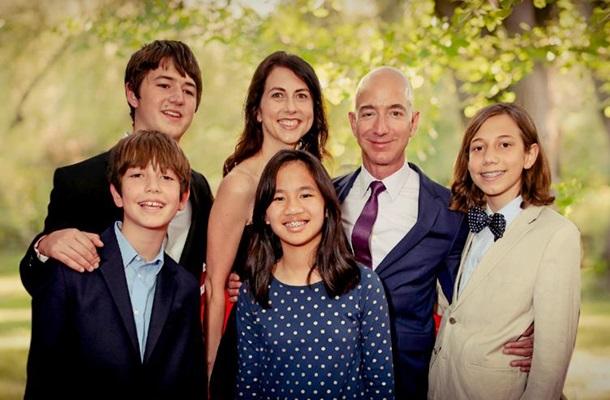 Джефф Безос, семья