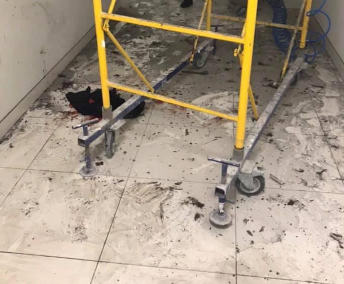 В ГСЧС сообщили, что в киевском ТРЦ взорвался аэрозольный тестер