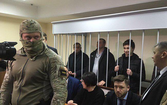 Суд над украинскими моряками