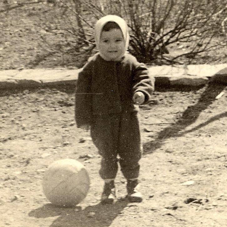 Виктор Павлик в детстве