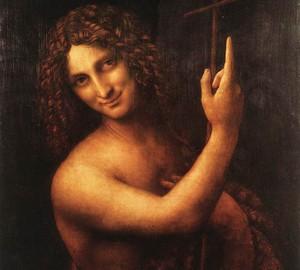 Иоанн Креститель. Картина Леонардо да Винчи, 1514-1516