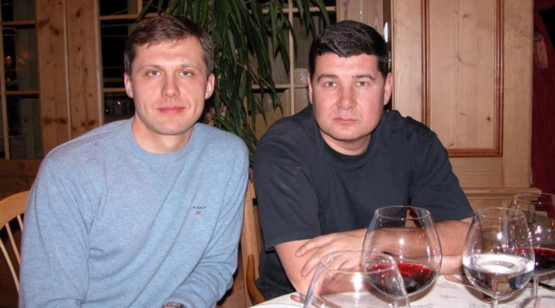 Игорь Шевченко и Александр Онищенко