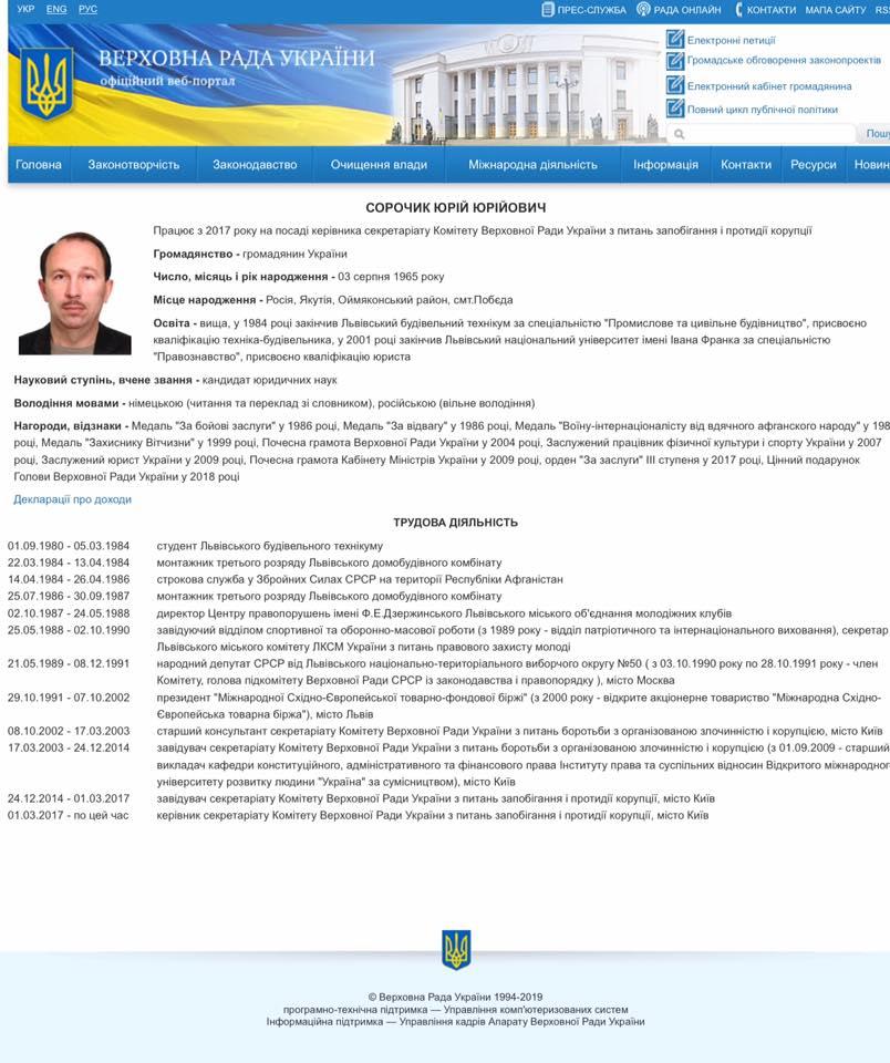 Под Львовом чиновник Рады избил полицейского