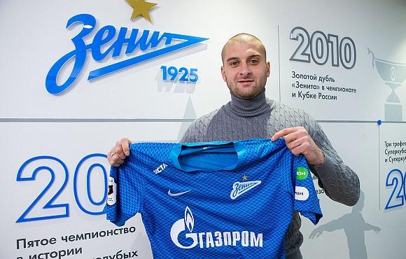 Ярослав Ракицкий стал игроком питерского Зенита