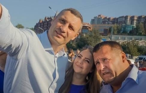 Виталий Кличко, Борис Филатов