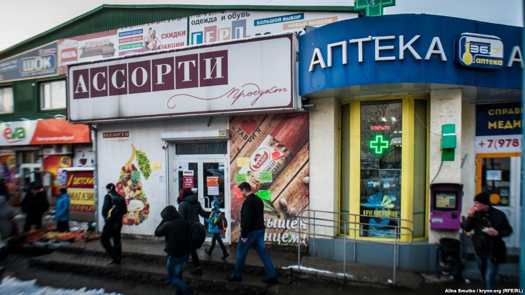 магазины в Крыму