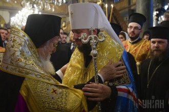 Патриарх Варфоломей и митрополит Епифаний / УНИАН