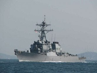 Есмінець USS Donald Cook DDG75