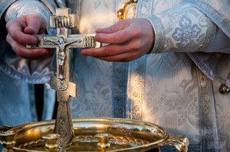 Крещенское богослужение / УНИАН