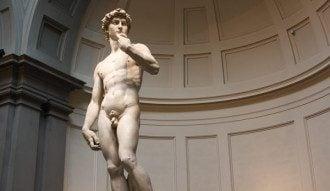 Статуя Давида Микеланджело. Оригинал