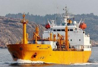 В Керченском проливе произошел пожар на двух суднах/ fleetmon.com