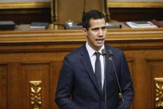 Лидер протестов в Венесуэле Хуан Гуайдо