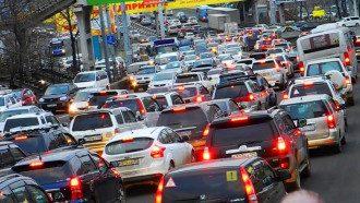 Пробки в Києві